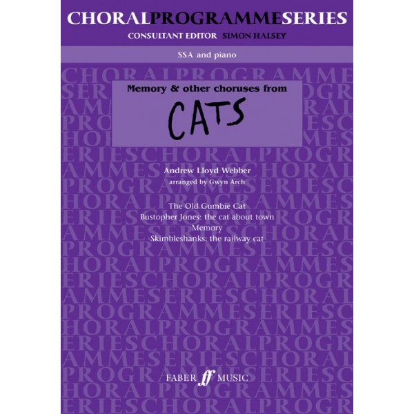 Lloyd Webber, Andrew - Memory & others from Cats. SSA acc. (CPS