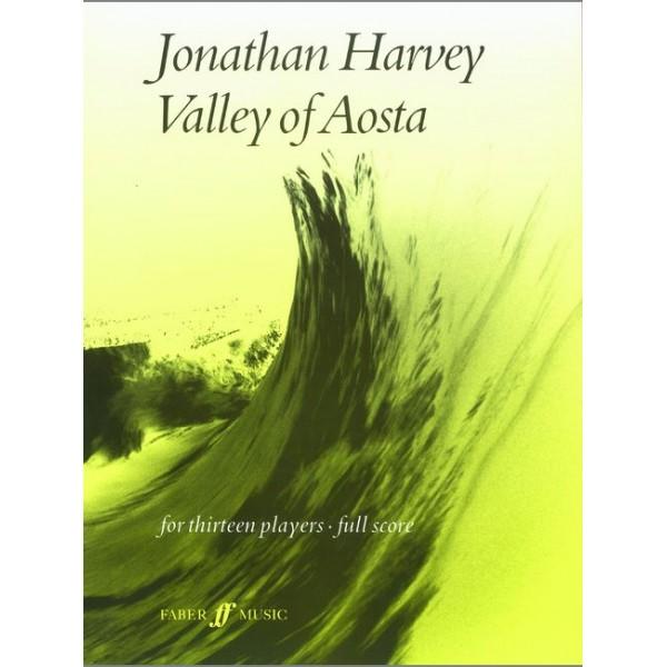 Harvey, Jonathan - Valley of Aosta (score)