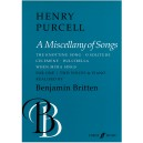 Purcell, Henry (arr Britten) - Miscellany of Songs