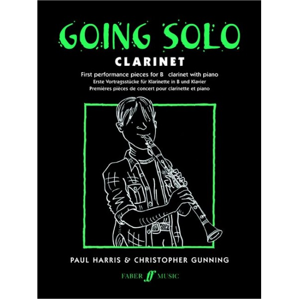 Harris, P - Going Solo (clarinet and piano)