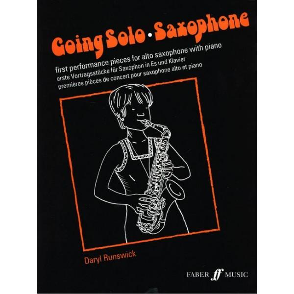 Runswick, Daryl - Going Solo (alto saxophone and piano)