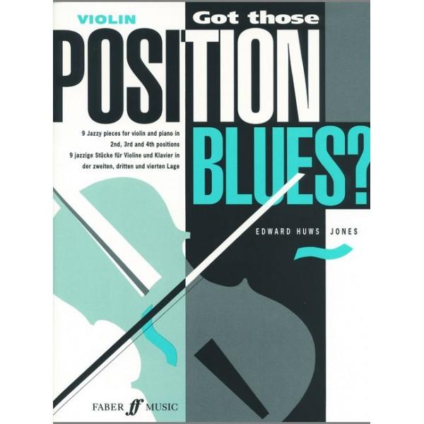 Huws Jones, Edward - Got those Position Blues? (violin & pno)