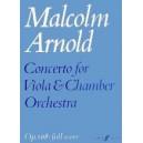 Arnold, Malcolm - Concerto for Viola (score)