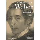 Weber, Carl Maria von - Mass in E flat (full score)