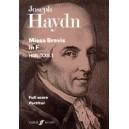 Haydn, F J - Missa Brevis in F (full score)