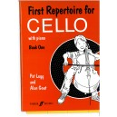 Legg, P - First Repertoire for Cello. Book 1