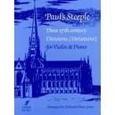 Huws Jones, Edward (editor) - Pauls Steeple (violin and piano)
