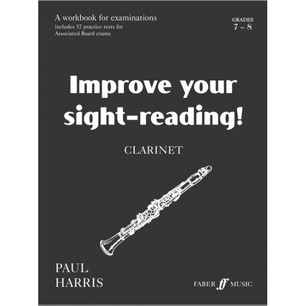 Harris, Paul - Improve your sight-reading! Clarinet 7-8