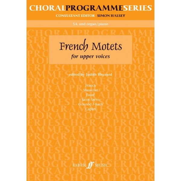 Blezzard, Judith (editor) - French Motets. SA accompanied (CPS)