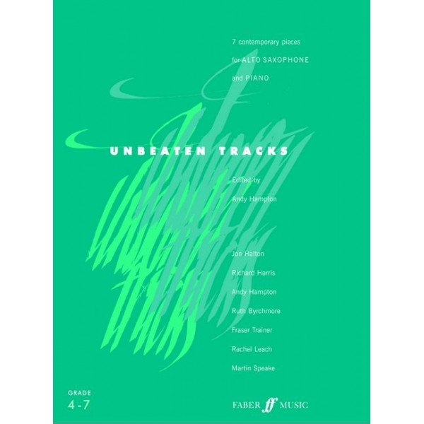 Hampton, Andy (editor) - Unbeaten Tracks (alto saxophone & piano)