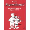 Cohen, Mary - Superduets. Book 1 (violin duet)