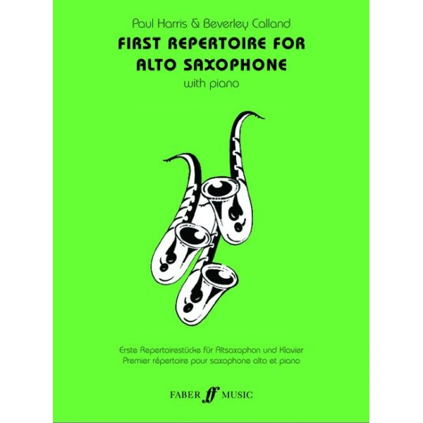 Harris, P - First Repertoire (alto sax and piano)