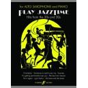 Stratford, R - Play Jazztime (alto saxophone and piano)