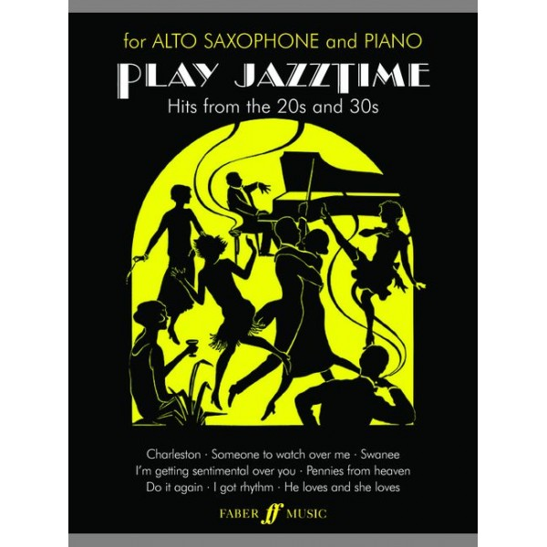 Stratford, R - Play Jazztime (alto saxophone and piano)