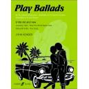 Kember, John - Play Ballads (clarinet and piano)