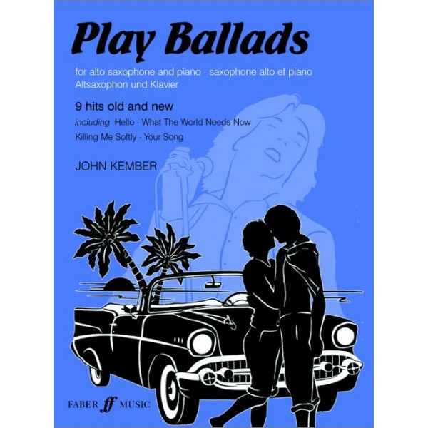 Kember, John - Play Ballads (alto saxophone and piano)