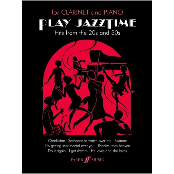 Harris, Paul - Play Jazztime (clarinet and piano)