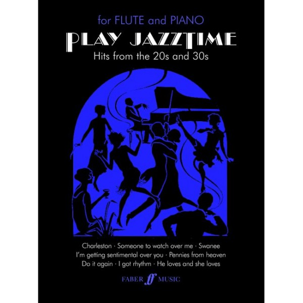 Adams, Sally - Play Jazztime (flute and piano)