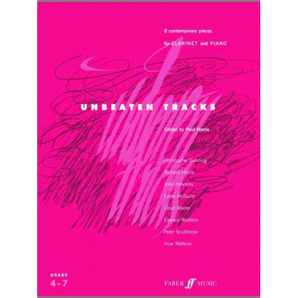 Harris, Paul (editor) - Unbeaten Tracks (clarinet and piano)