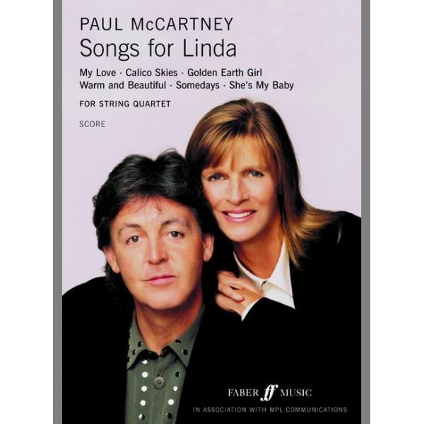 McCartney, Paul - Songs for Linda (string quartet score)