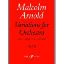 Arnold, Malcolm - Variations for Orchestra (score)