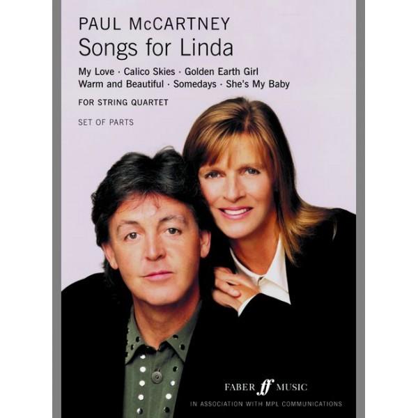 McCartney, Paul - Songs for Linda (string quartet parts)