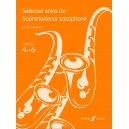 Selected Solos for soprano/tenor sax (grade 4-6)