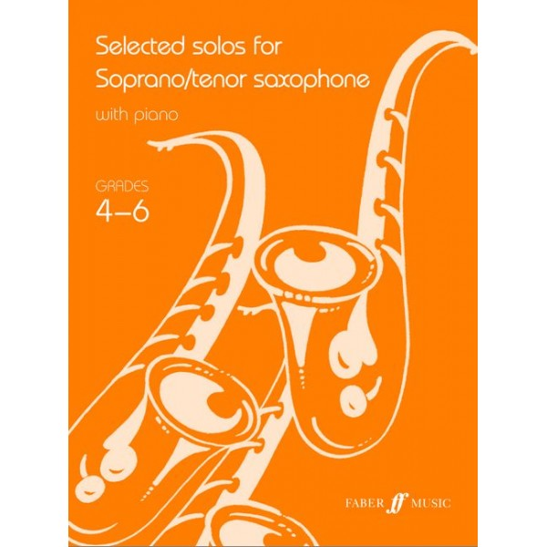 Various - Selected solos for tenor sax (grade 4-6)