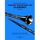 Concert Repertoire (with Piano Accompaniment)