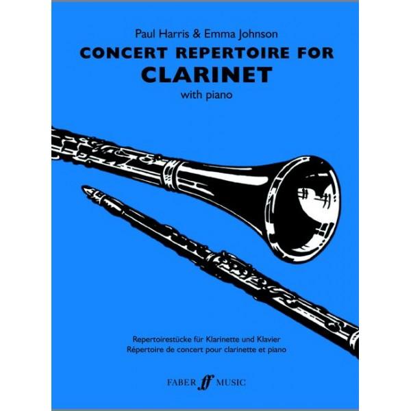 Harris, P - Concert Repertoire (clarinet and piano)