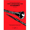 Harris, Paul (arr) - First Repertoire for Clarinet