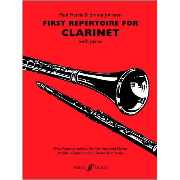 Harris, P - First Repertoire (clarinet and piano)