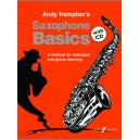 Hampton, Andy - Saxophone Basics (pupils book/CD)