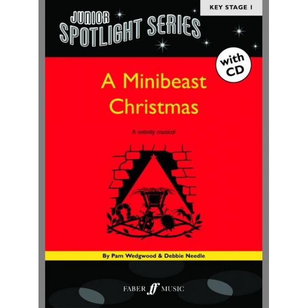 Wedgwood, P - Minibeast Christmas (bk/CD) (Spotlight)