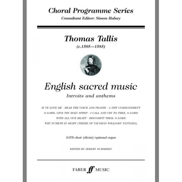 Tallis, Thomas - English sacred music. SATB opt.acc (CPS)