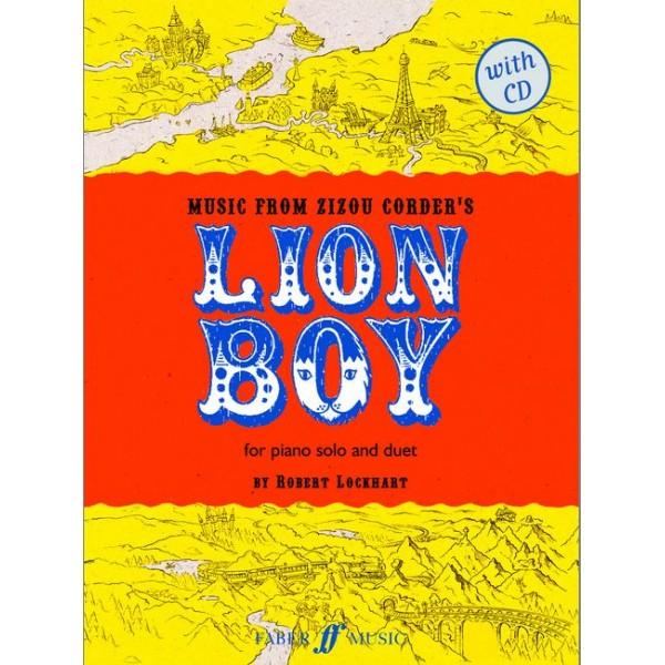 Lockhart, Robert - Lion Boy (piano/CD)