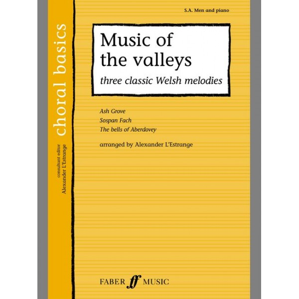 Allwood, Peter (arranger) - Music of the Valleys. SA/Men acc. (CBS)