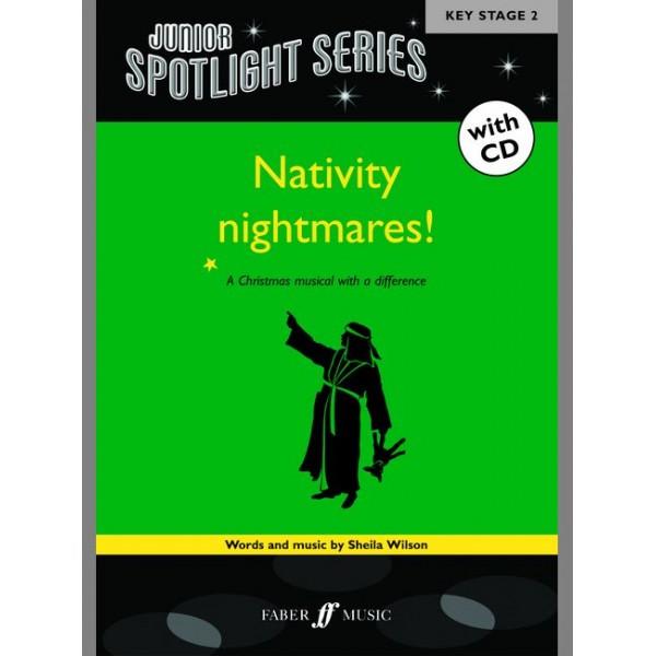 Wilson, Sheila - Nativity Nightmares (bk/CD) (Spotlight)