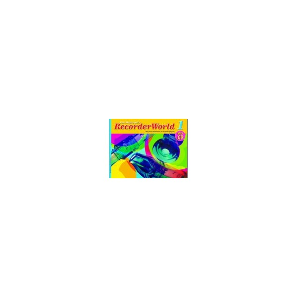 Wedgwood, Pam - RecorderWorld 1 (book/CD)