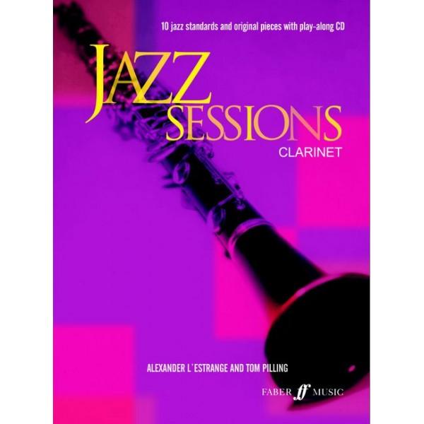 LEstrange, A - Jazz Sessions (clarinet/CD)