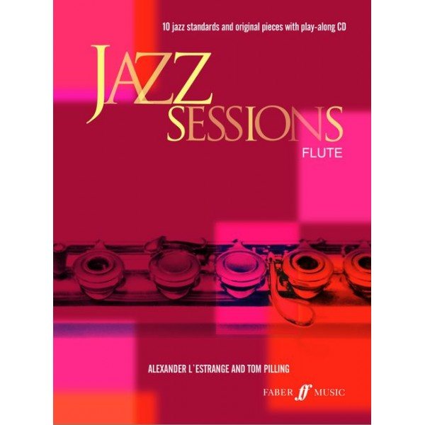 LEstrange, A - Jazz Sessions (flute/CD)