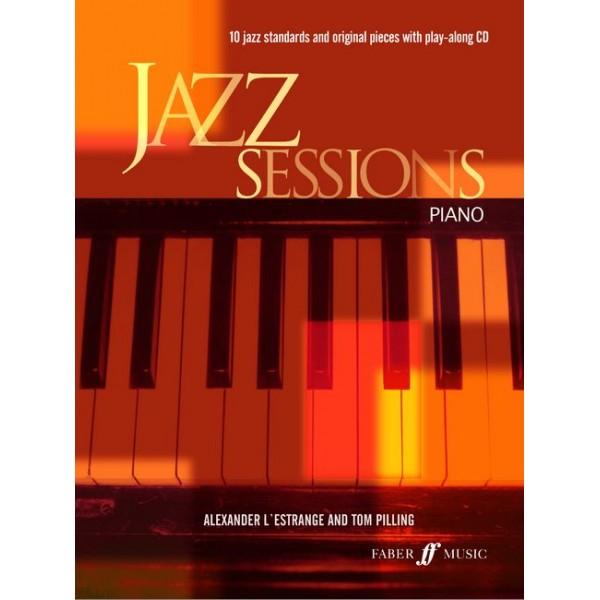 LEstrange, A - Jazz Sessions (piano/CD)