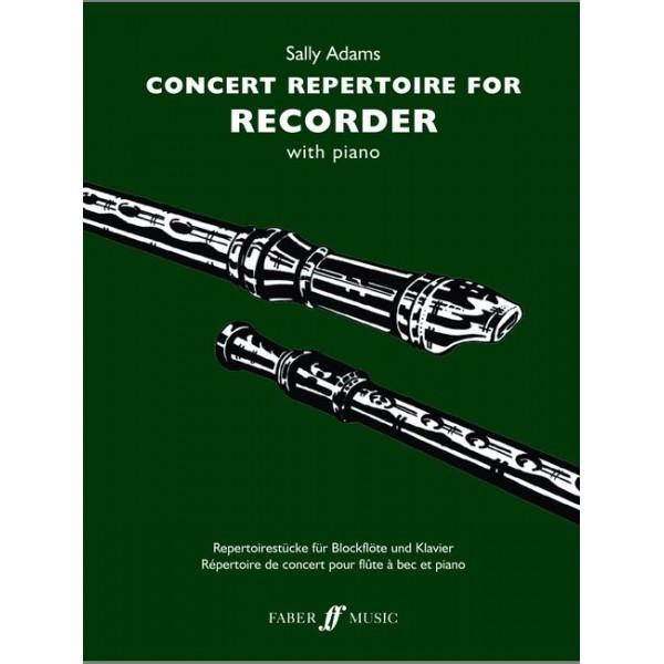 Adams, Sally - Concert Repertoire for Recorder