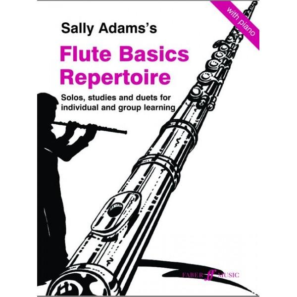 Adams, Sally - Flute Basics Repertoire (flute and piano
