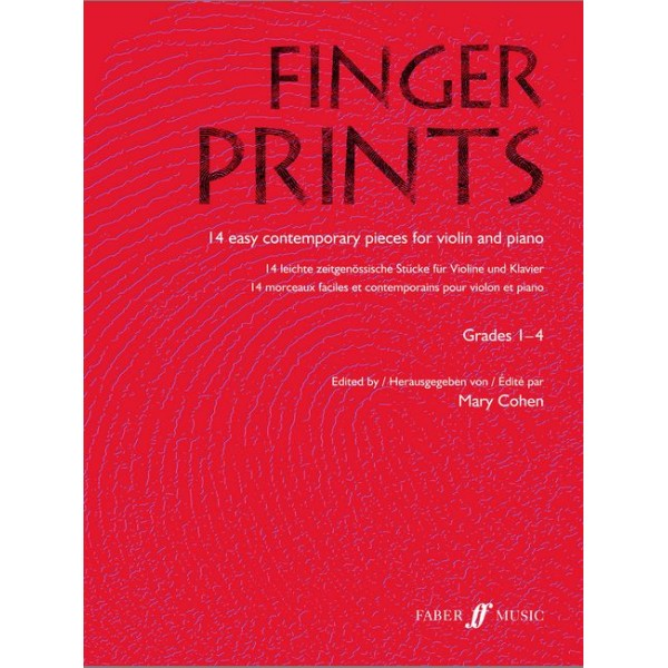 Cohen, Mary (editor) - Fingerprints (violin)
