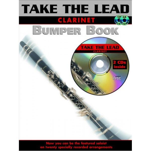 Various - Bumper Take the Lead. Clarinet (book/CD)