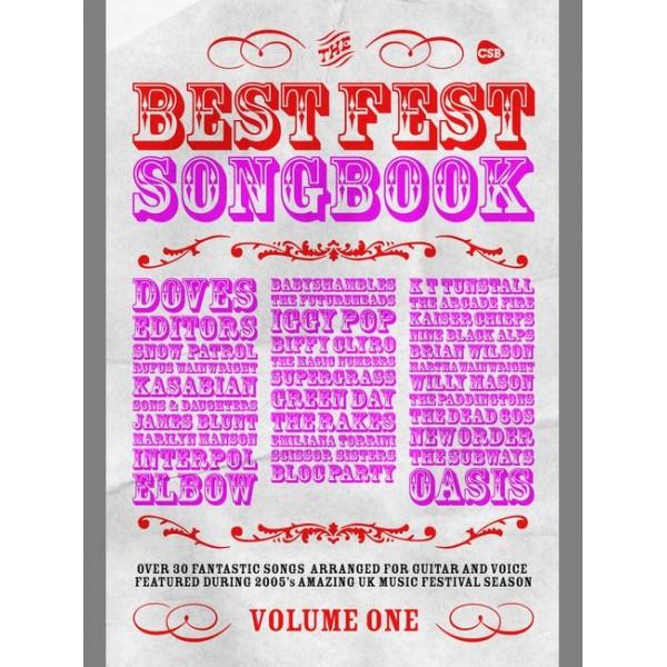 Various - Best Fest Songbook (chord songbook)