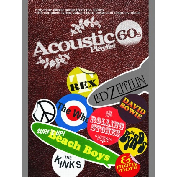 Various - Acoustic Playlist: The 60s (chord sngbk)