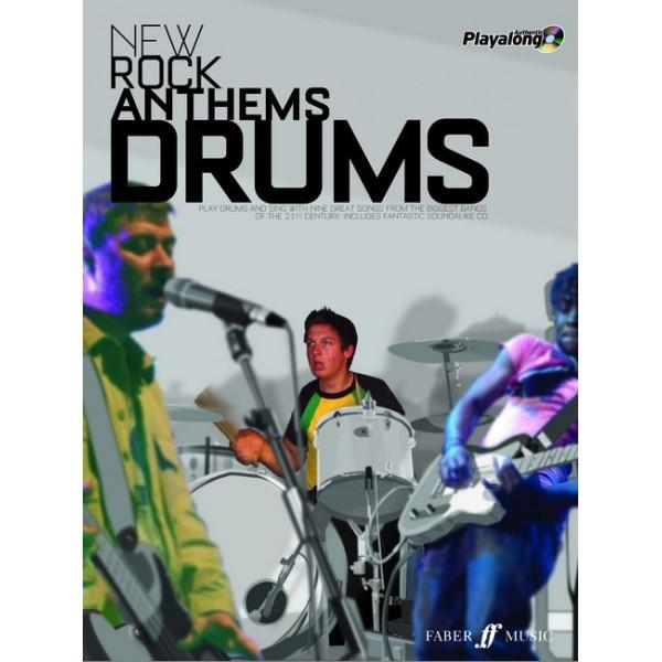 Various - New Rock Anthems (Drums/CD)