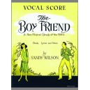 Wilson, Sandy - Boyfriend, The (vocal score)